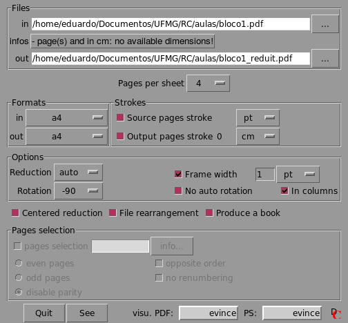 A page-crunch screenshot